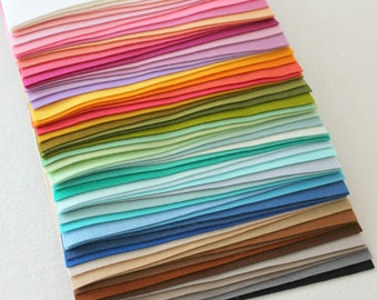 PURE Merino Wool Felt 10 - 6x8 Sheets