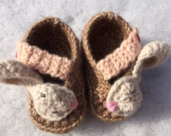 Baby Booties - Mon Lapin