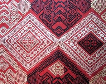 Intricate Hand Woven Weaving from Laos