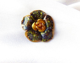 Cabochon flower collection * lichen * N ° 2 for creation