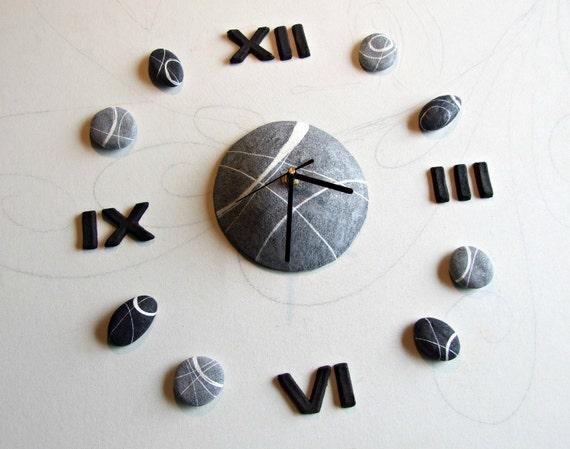 Orologio da parete design moderno orologio componibile numeri for Numeri adesivi leroy merlin