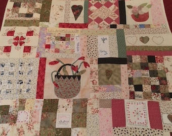 Handmade Quilt, for sofa or bed