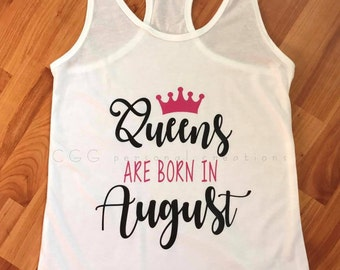 Queens are born in shirt