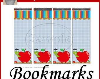 School Teacher Bookmarks Printable