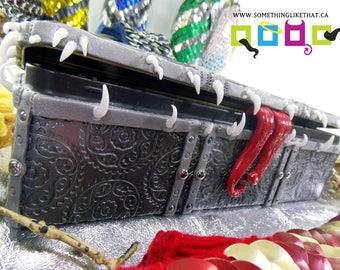 Hand Sculpted King Mimic- Jewellery Box - Incense box - Statement Box