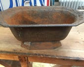 SOLD French Oval Rusty Ir...