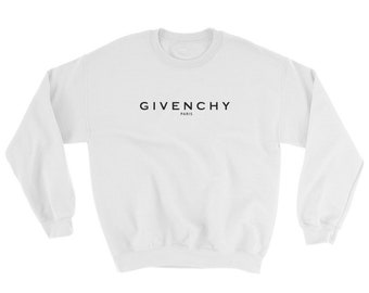 Givenchy Paris Sweatshirt Logo - Givenchy For Men and Women - Givenchy inspired  - Free Shipping -