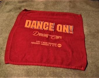 3 Dancing with the Stars 2006 Premiere Promo Towels