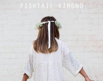 Fishtail Kimono pdf sewing pattern