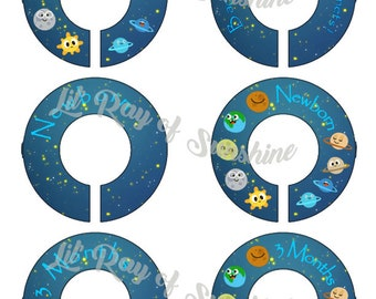 574M: Back in my Day we had 9 planets Baby Closet Dividers