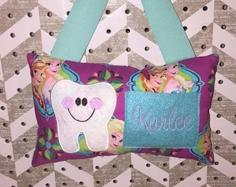Frozen Tooth Fairy Pillow - FREE SHIPPING