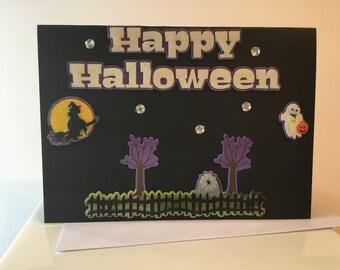 Happy Halloween Card H12