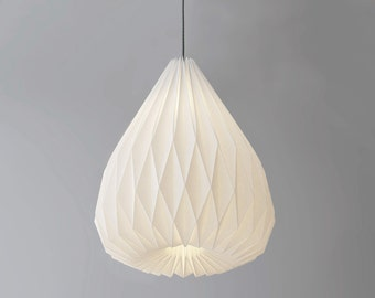 SNOWDROP XL origami lampshade