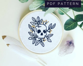 Death & Regeneration PDF Embroidery Pattern