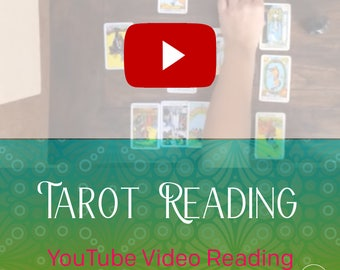 YouTube Video, Tarot Reading, one question reading, video reading, tarot, video, 15 minutes, love, career