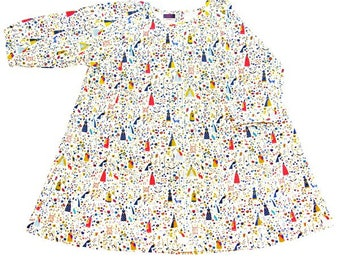 Girl dress, Miss Fairy Mnadarin Liberty  Lotta Cord W