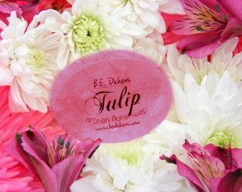 Savon de la tulipe depuis le jardin de fleur
