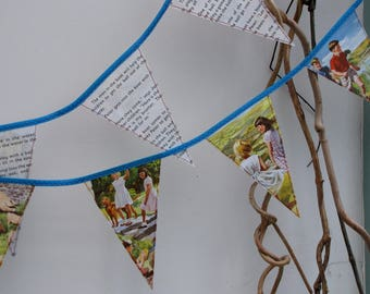 Vintage Peter and Jane book bunting