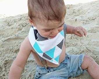 Bandana Baby Bib - Baby Bibs - Bandana Bib - Boys Bib - Dribble Bib - Drool Bib – Baby Bib - Baby Gift - Baby Shower - Dribble Catcher