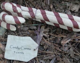 Primitive Candy Canes Bunch