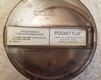POcKet FLIX Ideal Toy RARE vintage 1978 spider man the witching hour
