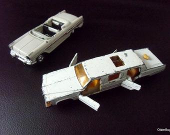 Vintage Diecasts Limousine Majorette 1957 Pontiac Bonneville white Collectible Cars Die-cast cadillac limousine majorette pontiac D1/1082
