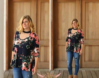 Cypress Choker PDF Sewing Pattern Women Sizes XS-XXXL