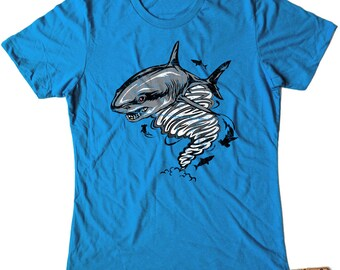 Sharknado Ladies Tshirt sizes S-XXL