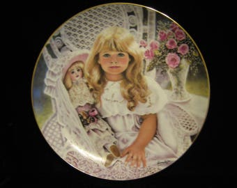 "Collector plate ""Anna"" by Corinne Layton"