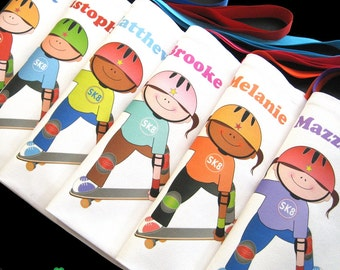 Skateboard party favors skateboard skating themed birthday party SK8 party favor tote bags for boys and girls sk8er gifts