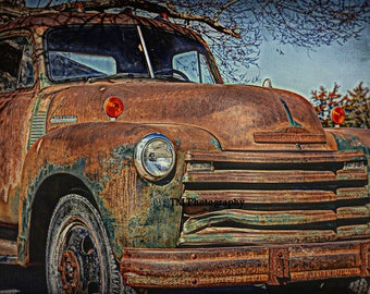Rusty Old Chevy ~ The 50's