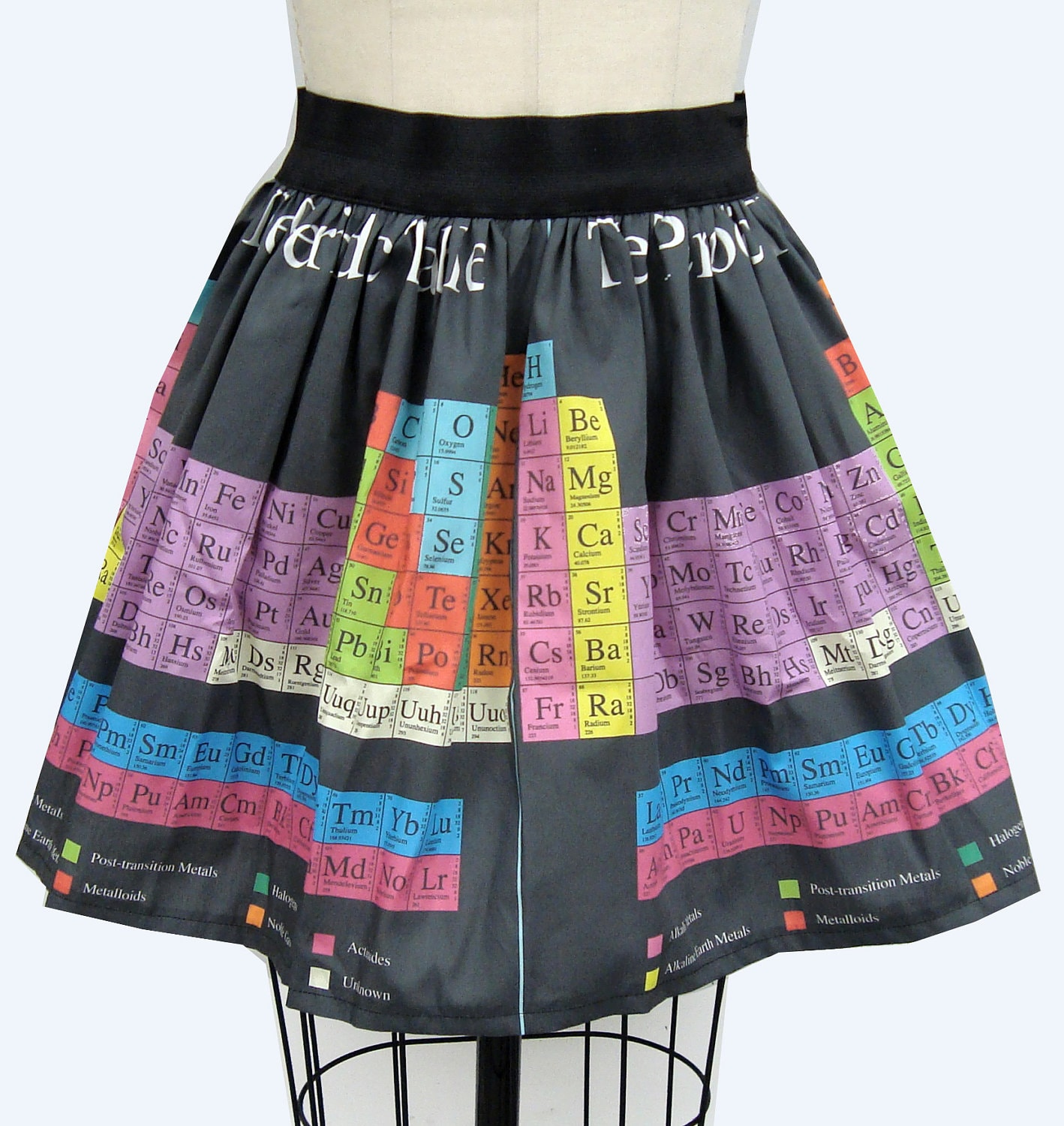 zoom - Periodic Table Fabric
