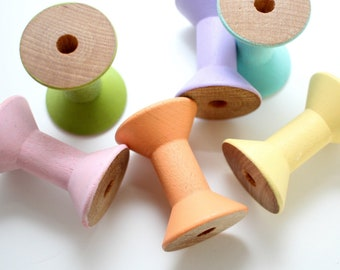 Spool Stacker - Pastel Rainbow