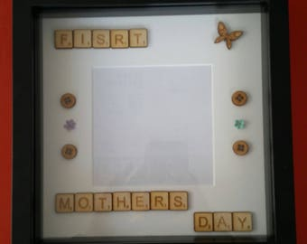 Scrabble Frame - Mothers Day