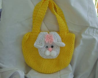 Purse with bunny face