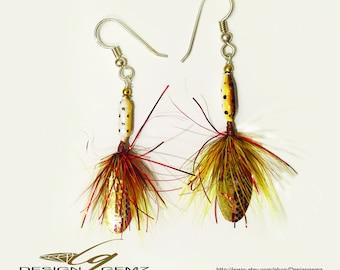 Fishing Lure Earrings