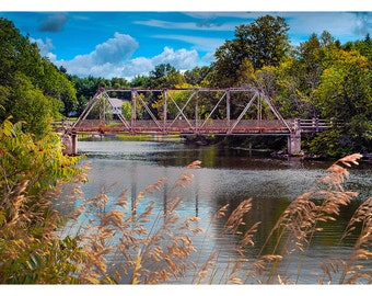 Mitchell's Bridge - Art & collectible photo Giclee prints for home decor or gift suggestion for any occasion.
