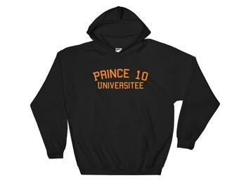 Prince 10 Universitee Hooded Sweatshirt