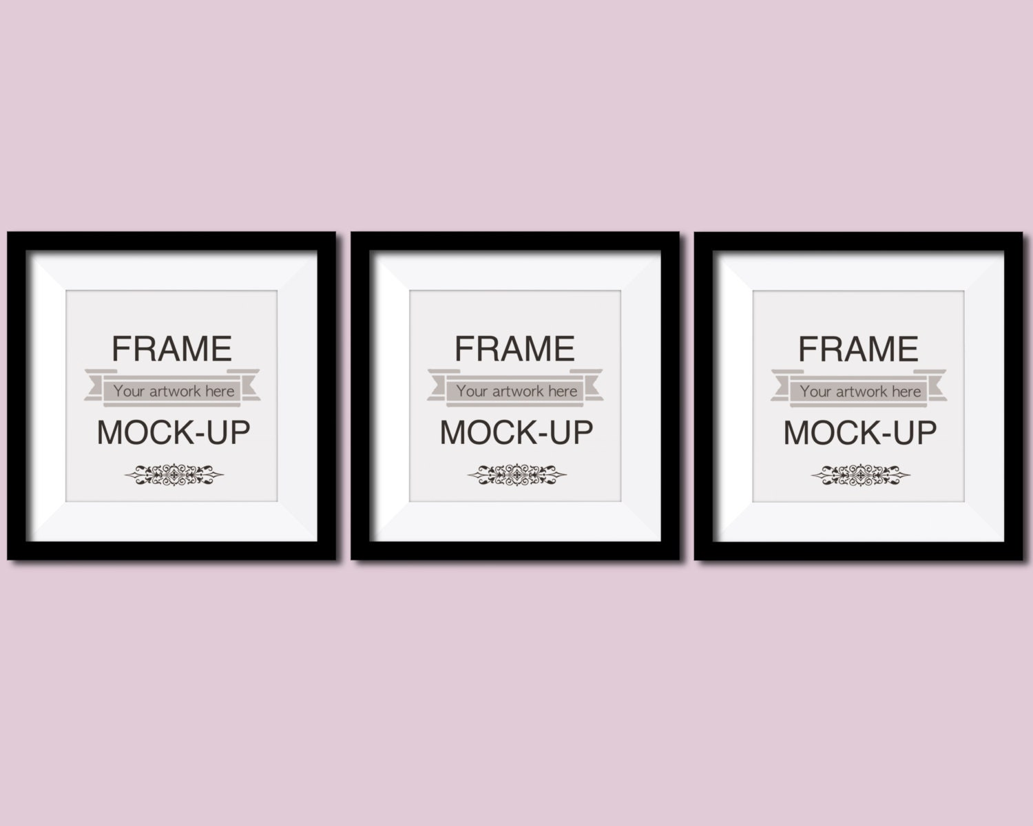 Nursery mockup picture frame mockup multiple frames three this is a digital file jeuxipadfo Gallery