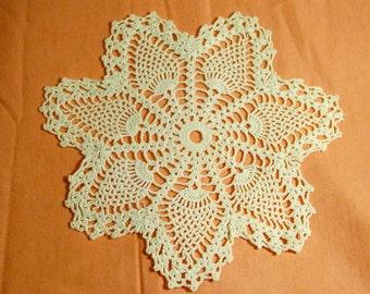 Creamy White 7 Point Doily - Cecelia-Marie - 133