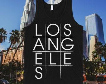 Los Angeles Tic-tac-toe Tank Top