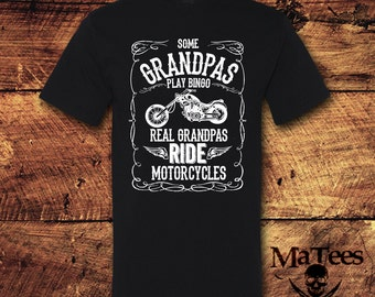 Grandpa, Grandpa Gift, Gifts for Grandpa, Grandpa Shirt, Motorcycle, Motorcycle Gifts, Motorcycle shirt, Grandparents, T-Shirt, Shirt, Tee