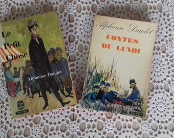 A set of two books by Alphonse Daudet