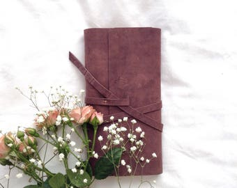 Leather Notebook/ Journal  vintage