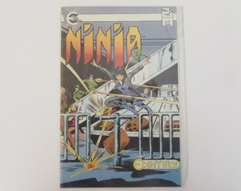 Vintage (1980s) comic book, Ninja Volume 1, No. 5