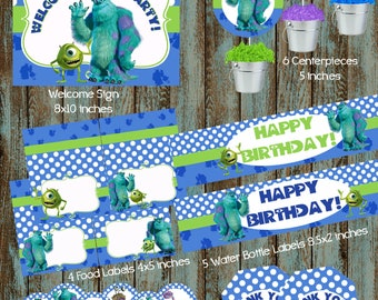 Monsters inc party Etsy