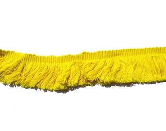 Yellow Fringe Trim (45m)
