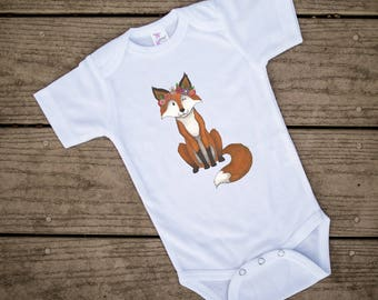 Fox baby clothing, Cute Baby clothes, Unique Baby Clothes, Fox Baby, Foxes, Flower baby, Animal Baby Clothes, Kids Clothes