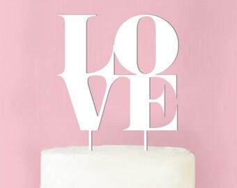 Love Sculpture Wedding Cake Topper (MICPLVSCTP62-W)