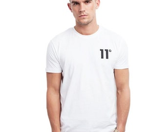 11Degrees T-Shirt (Black & White)